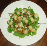 Pear_pea_shoot_salad