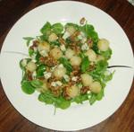 Pear_pea_shoot_salad